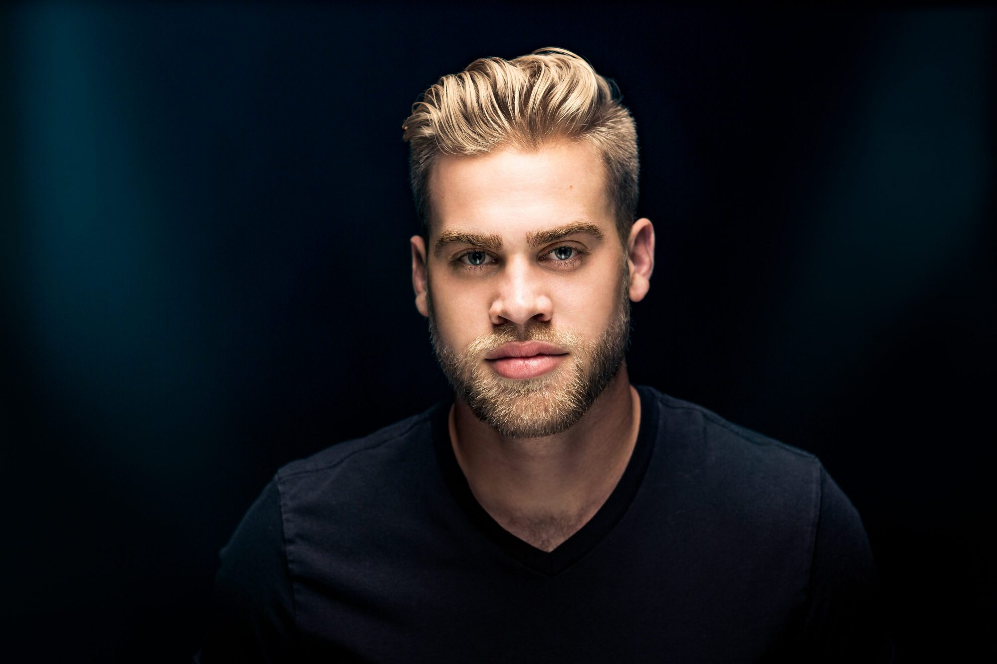 Actor Headshot, Male Model, Studio, Columbus, Ohio, Photography, Portrait, Epic Lighting