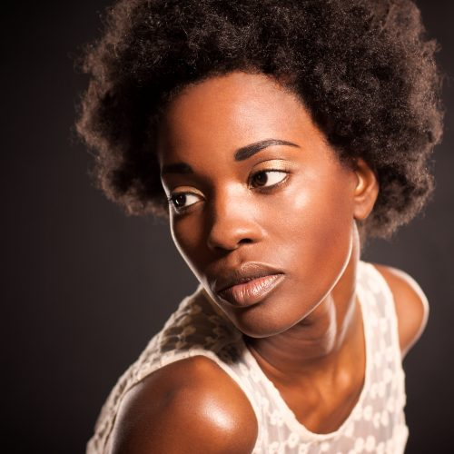 Model Headshot, Creative, Studio, Afro, African American, Black Model, Detroit, Photographer