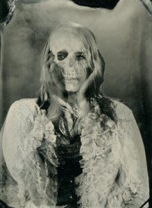 Halloween Party - Wet Plate Collodion Skeleton