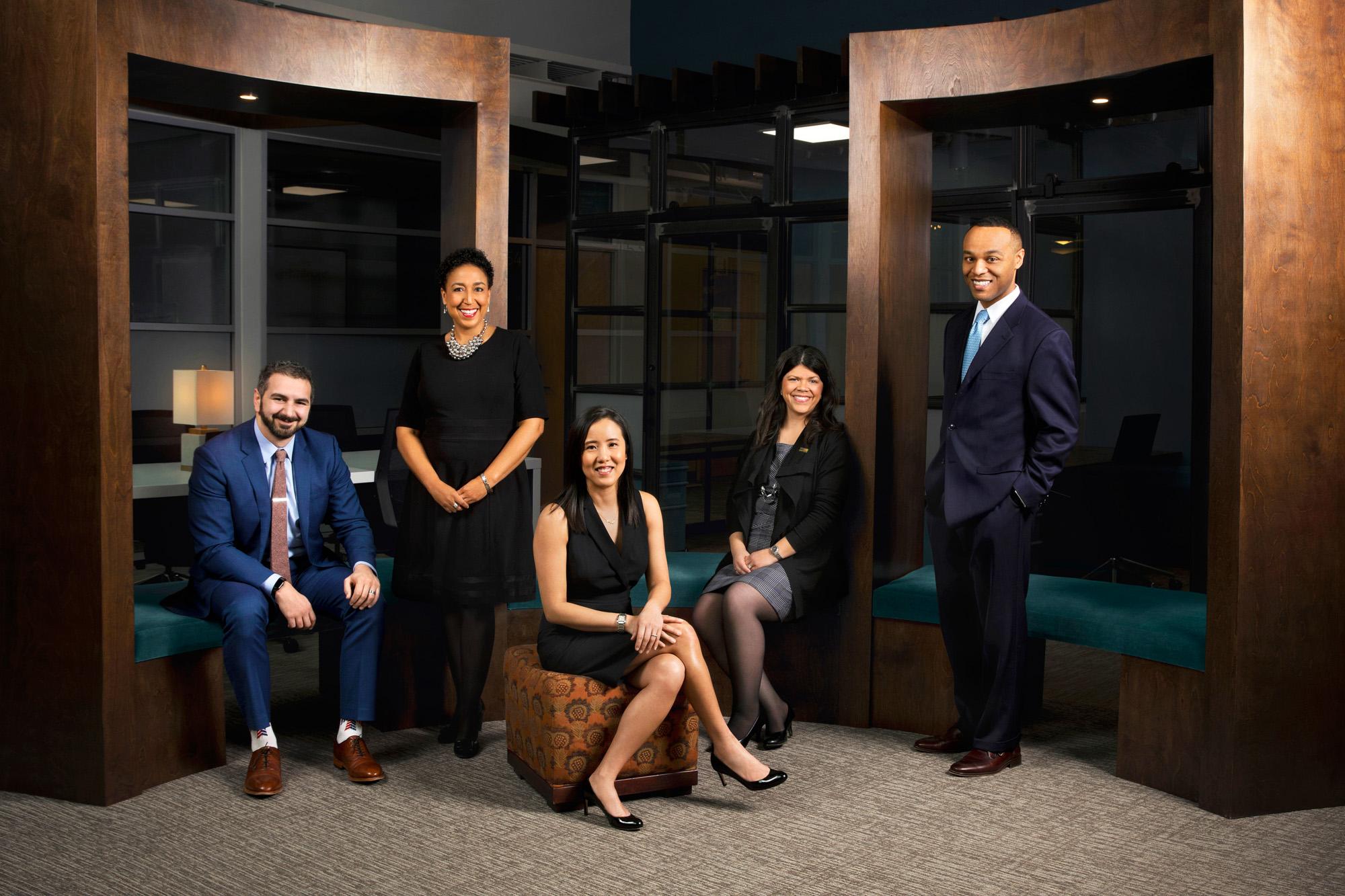 Corporate, Photography, Photoshoot, Group Portrait, The Columbus Foundation, Ua Chamberlain