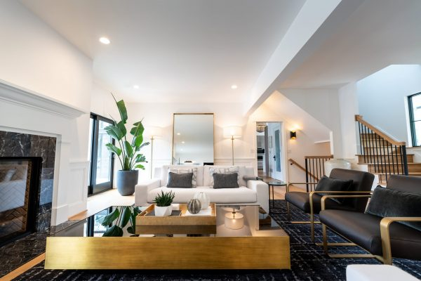 living room designed by The Jones Studio